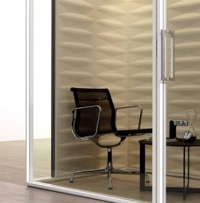 CABINE ACOUSTIQUE C SS RECTANGLE NUDE ET BOIS ZOOM CT Materic