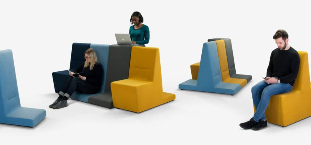 Materic Assises modulables espace lounge confort